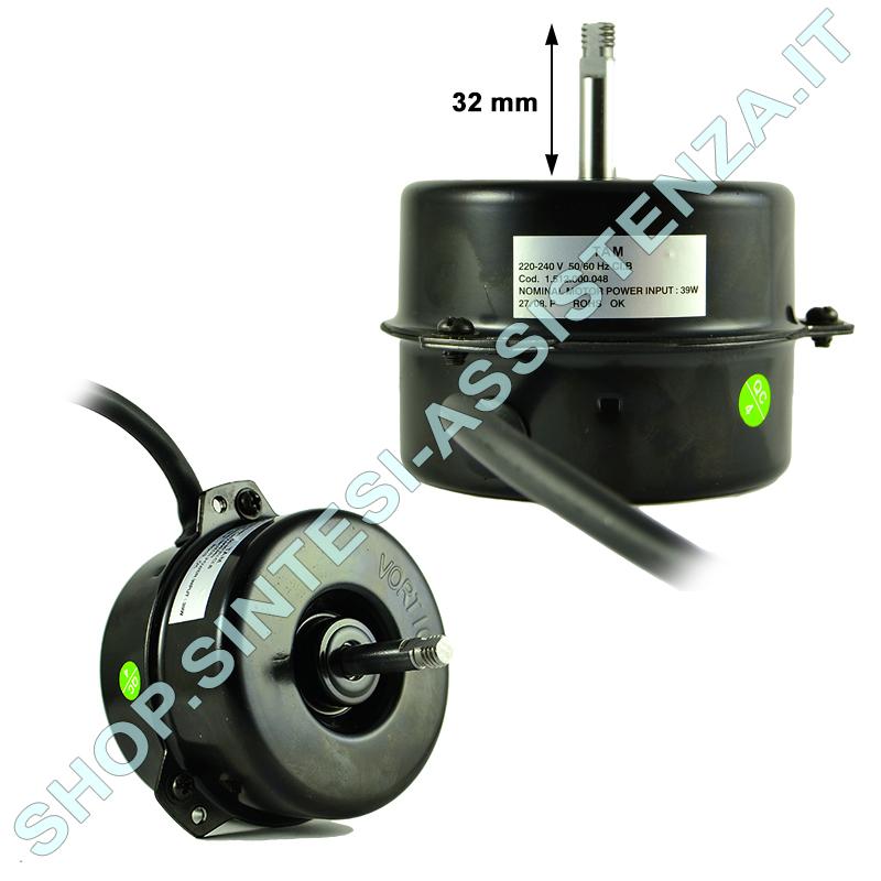 MOTORE CAPPA ASPIRATORE CENTRIFUGO VORT MAX S 80 W 2400 RPM 1.241.000.078